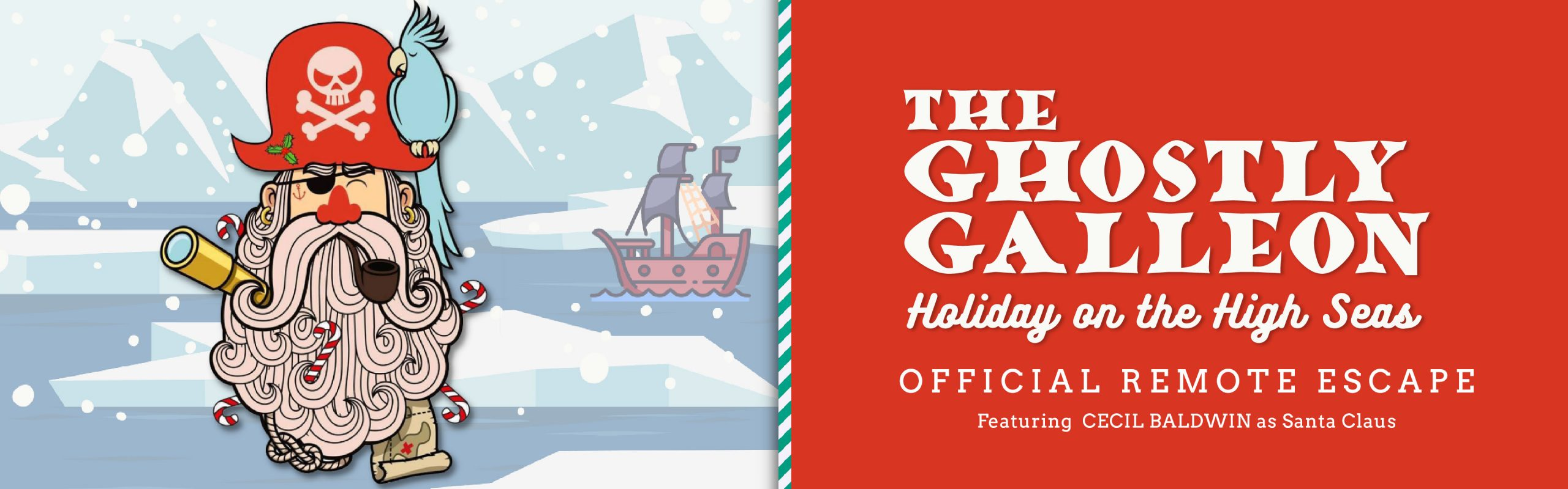 the ghostly galleon holiday on the high seas