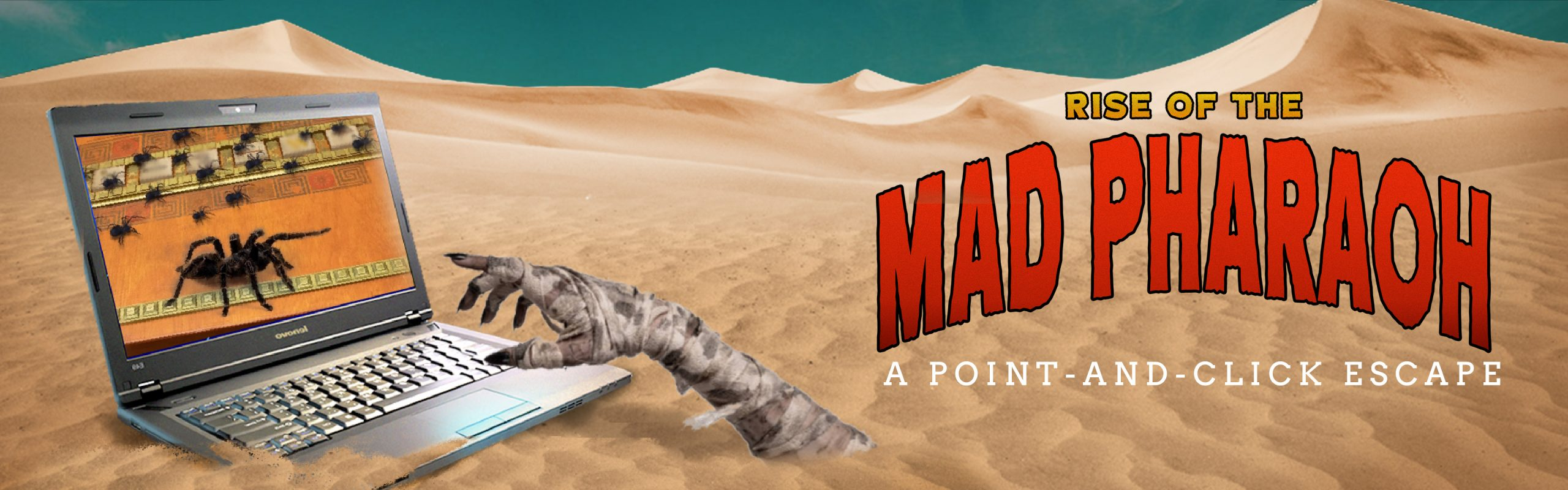 rise of the mad pharaoh point and click